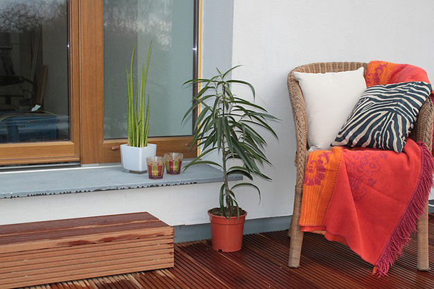 manta terraza - Easy, affordable ideas to decorate a terrace