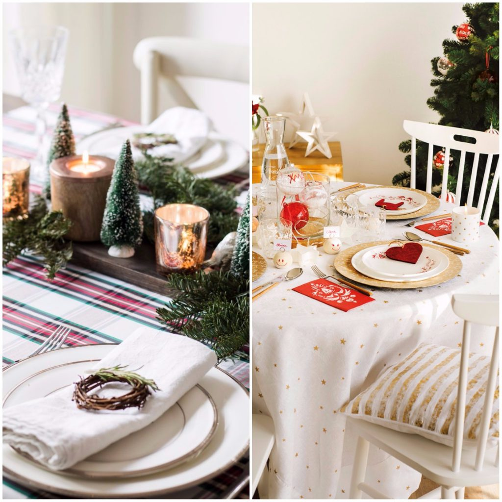 mesa comedor 1024x1024 - Guide to decorate your house with a style of...  Oh, White Christmas!