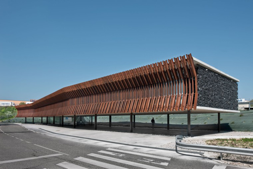 office building in Navarra - Architecture in Spain: an Office Building in Navarra