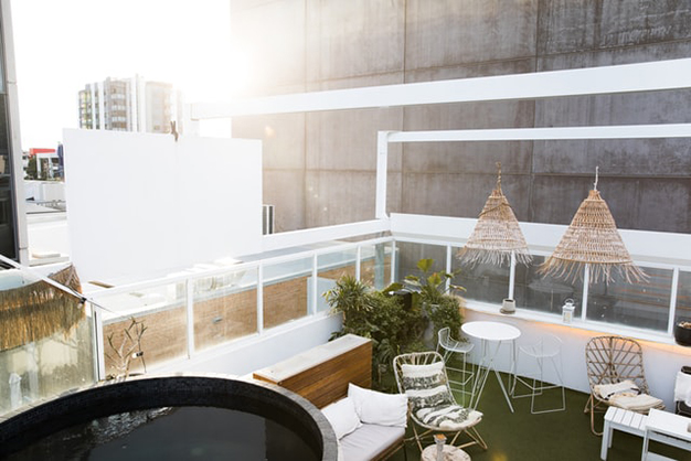 patio blanco - Roof terrace decorating ideas to make the most of the space