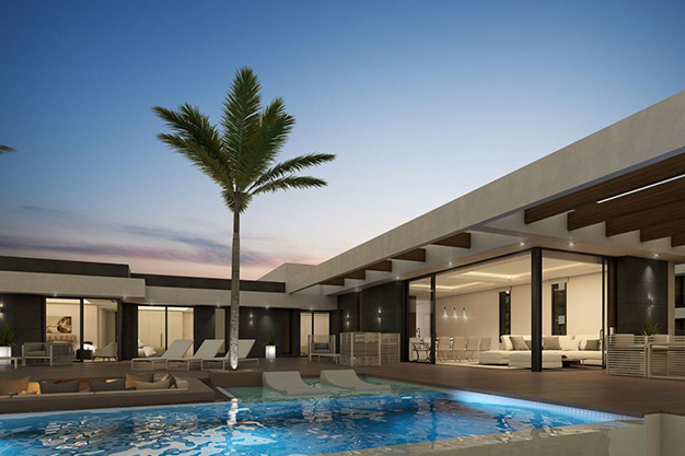 piscina 8 - For Sale One of the Most Spectacular Villas in Alicante with Incredible Sea Views