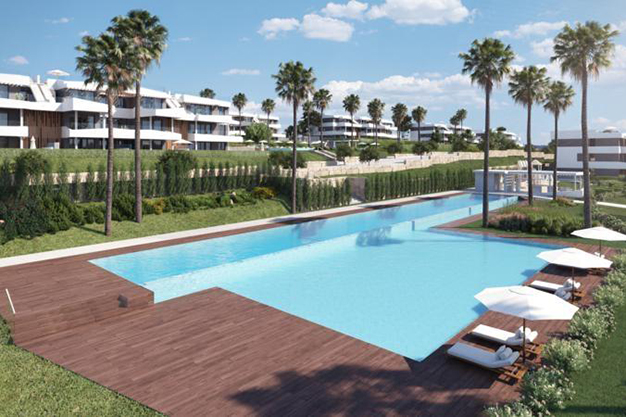piscina el limonar - This luxury flat in Malaga will captivate you for its modern and attractive design