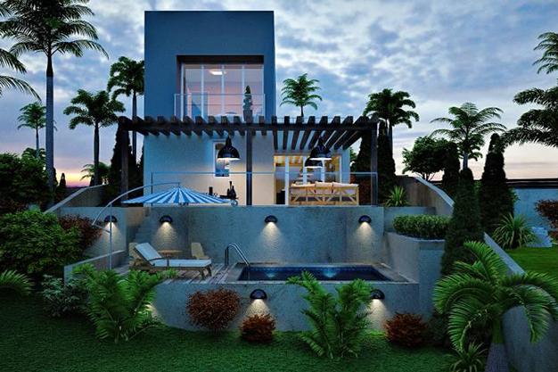 piscina palma de mallorca - Exclusive villa in Palma de Mallorca: modernity and luxury to savour the Mediterranean