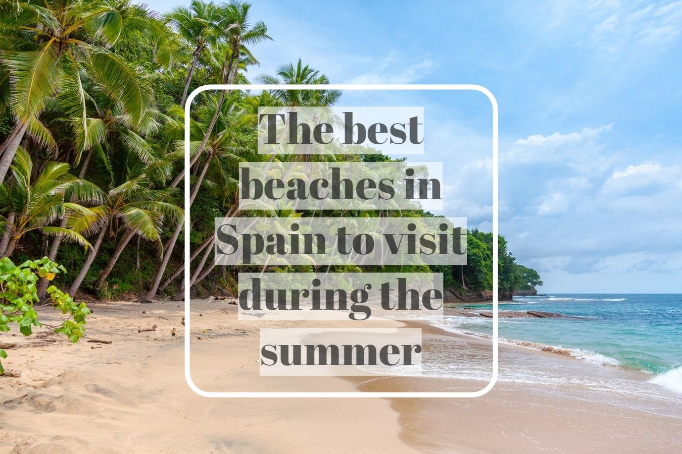 playas ingles - The best beaches in Spain to visit during the summer