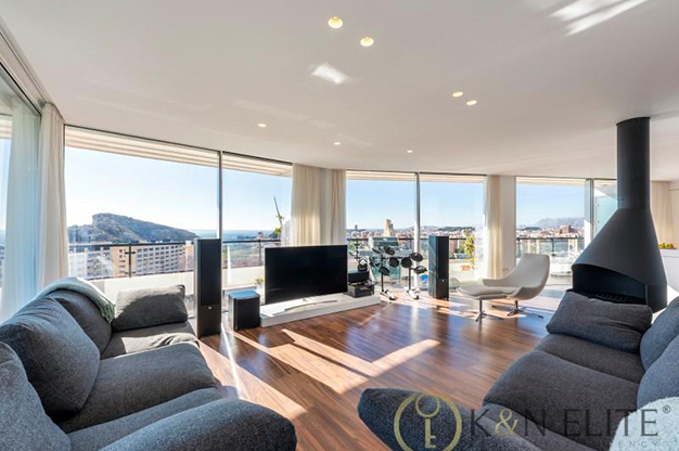 principal atico cerca de la playa en Alicante - Spectacular penthouse near the beach in Alicante: sea and mountains within reach of your eyes