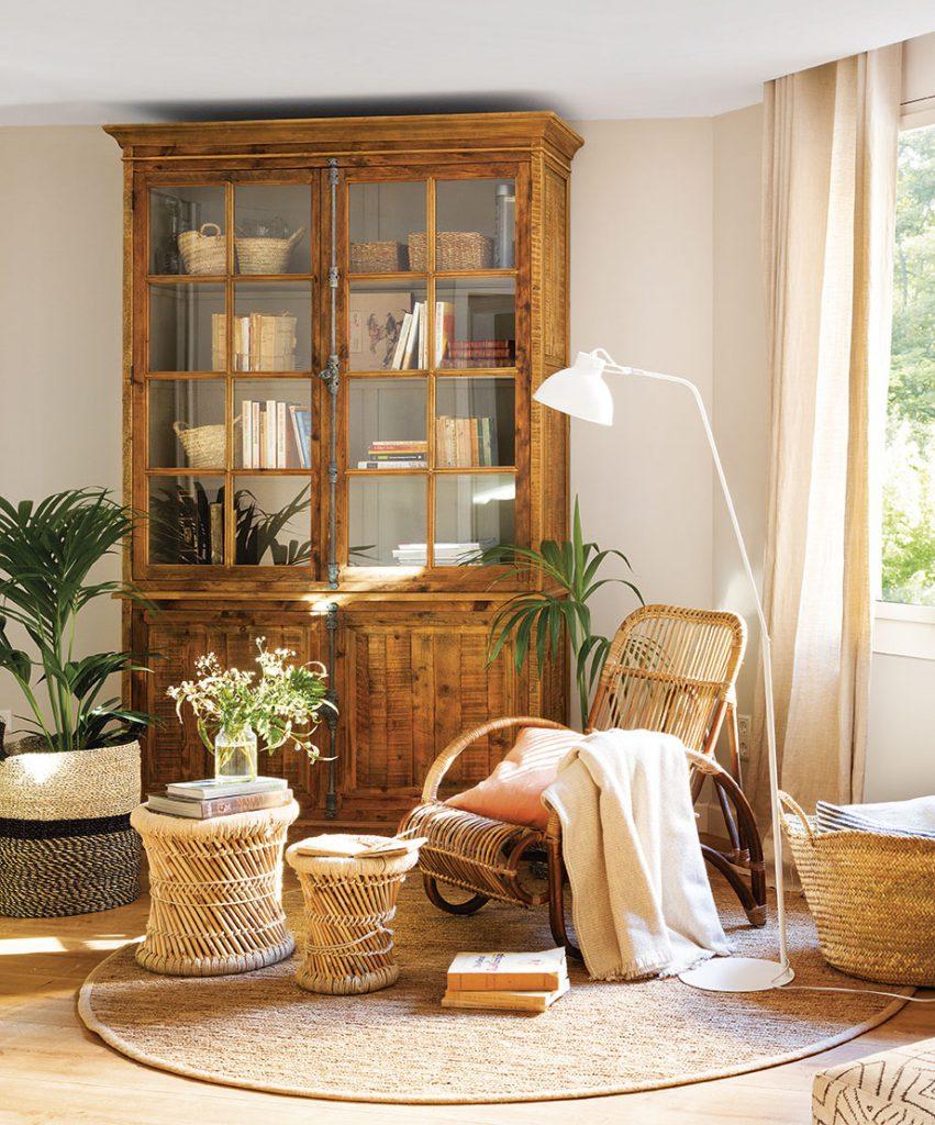 rincon de lectura con plantas 6e9fb1ee 851x1024 - Tips to decorate your first floor