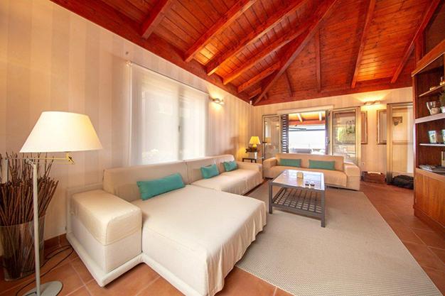 salón 2 1 1 - Villa with sea views in Tenerife: your dream home