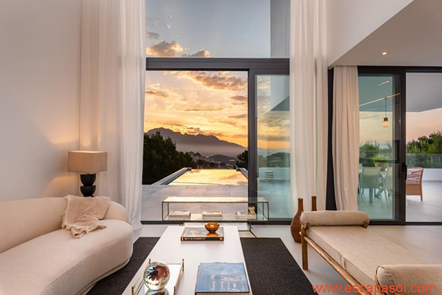 salón 2 1 - Luxurious villa in Alicante: luminous and very spacious