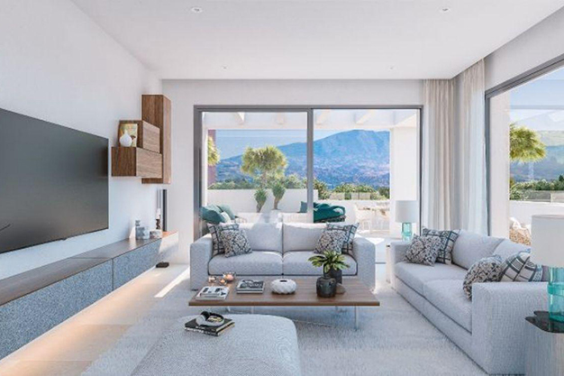 salón 2 2 - Luxury penthouse in Majorca: modern, minimalist, design-forward