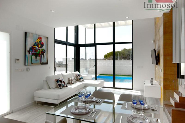salón 4 1 - Luxury house in Alicante: comfort and an excellent location