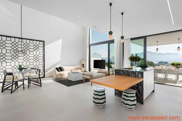 salón 6 - Luxurious villa in Alicante: luminous and very spacious