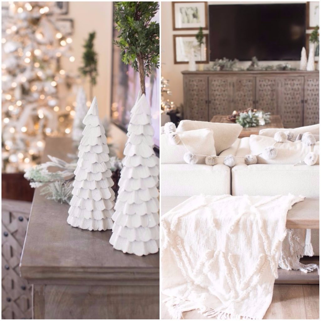 sala de estar 1024x1024 - Guide to decorate your house with a style of...  Oh, White Christmas!