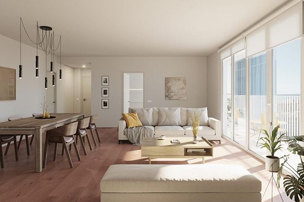salon comedor mallorca - Investment opportunity: exclusive apartment with pool in Mallorca