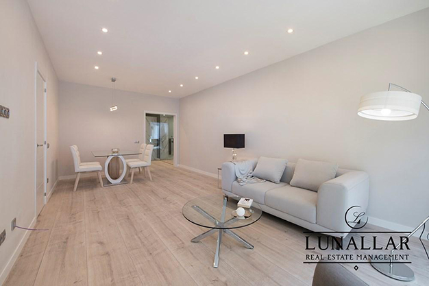 salon comedor sarria - Discover this fabulous flat located in an exclusive and prestigious area of Barcelona city