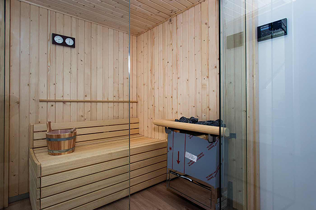 sauna - Beach home with top quality features in Alicante