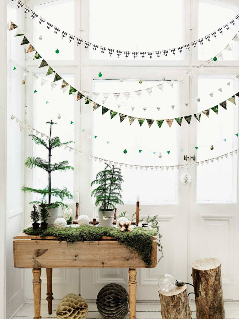 scandinavian christmas patterend window garlands a5e6f9f5 1200x1600 768x1024 - Ideas to decorate your windows at Christmas
