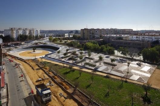 seville park - Parque de la Música in Seville