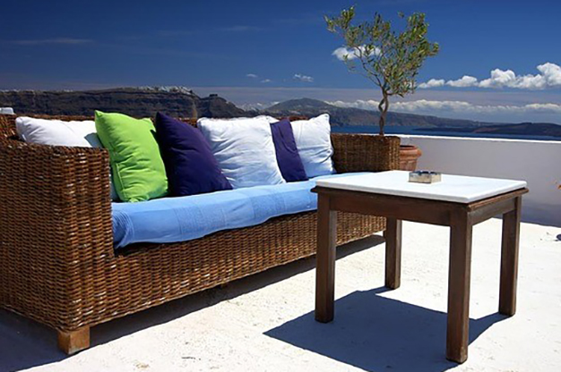 sofa terraza - Easy, affordable ideas to decorate a terrace