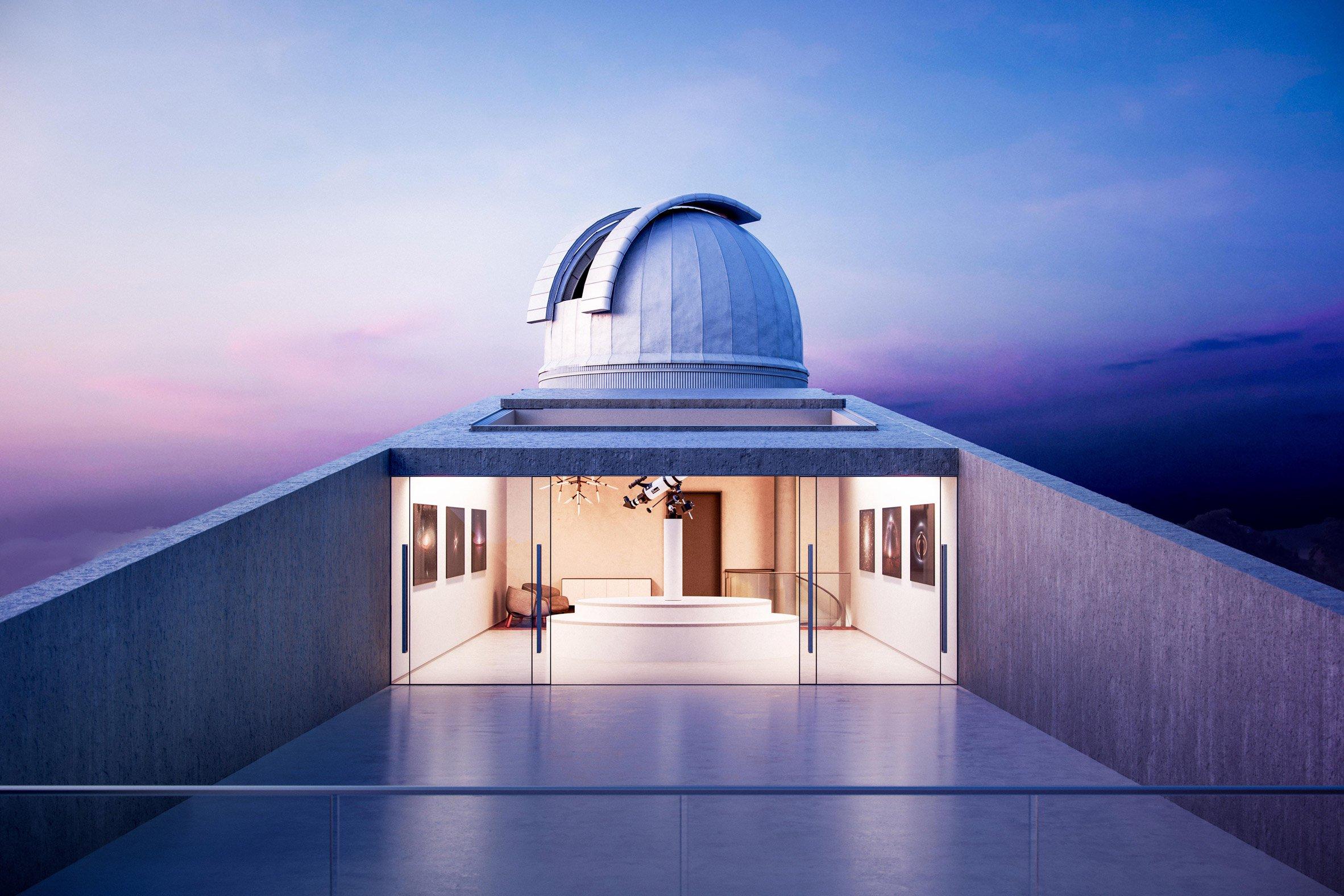 star observatory kyriakos tsolakis architecture news dezeen 2364 col 2 - An observatory inspire in Star Wars films
