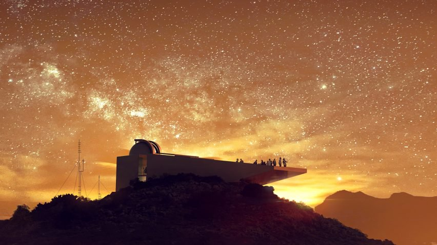 star observatory kyriakos tsolakis architecture news dezeen hero 1 852x479 - An observatory inspire in Star Wars films