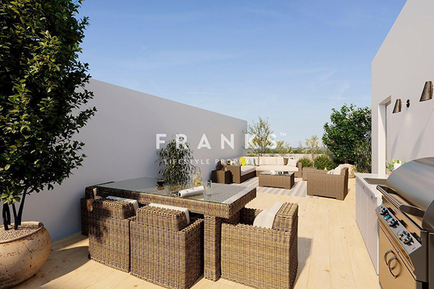 terraza 1 2 - Luxury flat in Barcelona with a pool and private garden