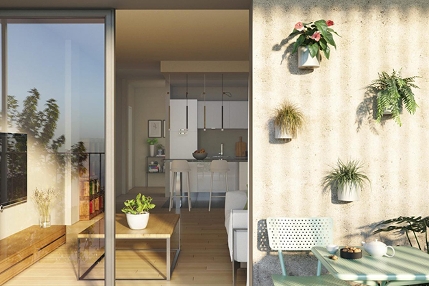 terraza 2 1 - Investment opportunity: exclusive apartment with pool in Mallorca