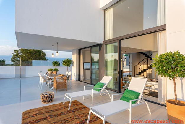 terraza 2 - Luxurious villa in Alicante: luminous and very spacious