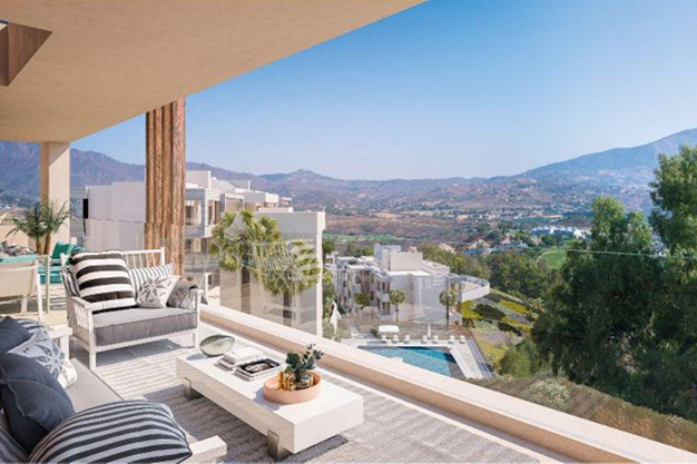 terraza 3 - Luxury penthouse in Majorca: modern, minimalist, design-forward