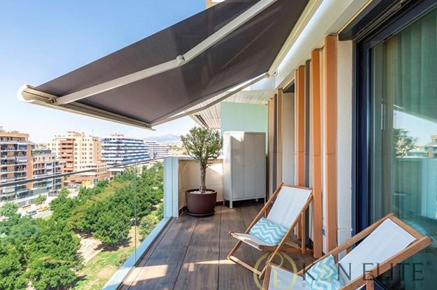 terraza alicante san juan - Spectacular apartment next to the beach in Alicante