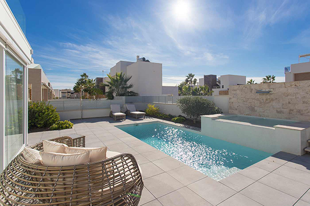 terraza alicante - Beach home with top quality features in Alicante