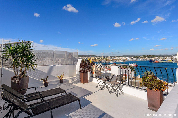 terraza ibiza - Apartment facing the harbour in Ibiza: absolute maritime charm