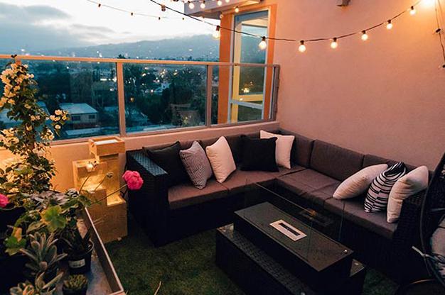 terraza iluminada 1 - Ideas for decorating outdoor spaces this summer