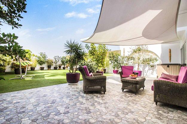 terraza las palmas - Exceptional villa with terraces in Las Palmas: incredible views of the sea and Mount Teide