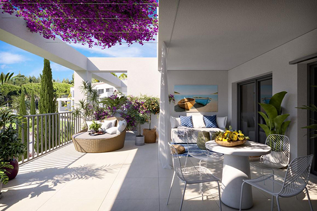 terraza mallorca 1 - Great Opportunity: an Exclusive Flat in Mallorca Only 500 Metres Away from the Beach