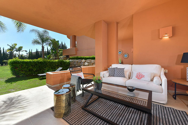 terraza marbella - This apartment for sale in Marbella is the perfect home to live in a unique natural environment and be happy