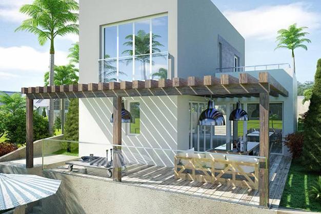terraza palma de mallorca - Exclusive villa in Palma de Mallorca: modernity and luxury to savour the Mediterranean