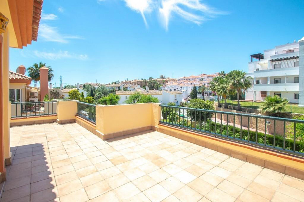 terraza1 - Duplex with spectacular terraces on the Costa del Sol