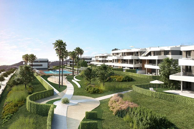 terrazas malaga - This luxury flat in Malaga will captivate you for its modern and attractive design