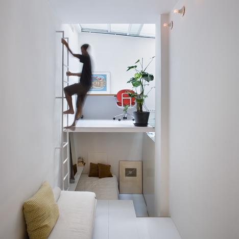 tiny apartment in madrid