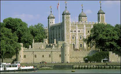 torre de londres - Most frightening houses in the world