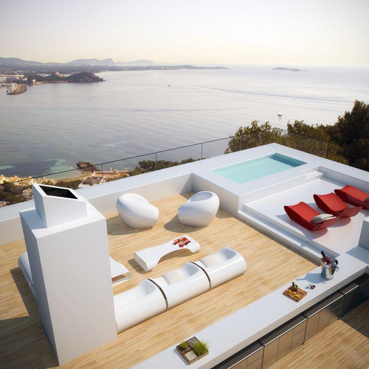 ultra modern house in Ibiza1