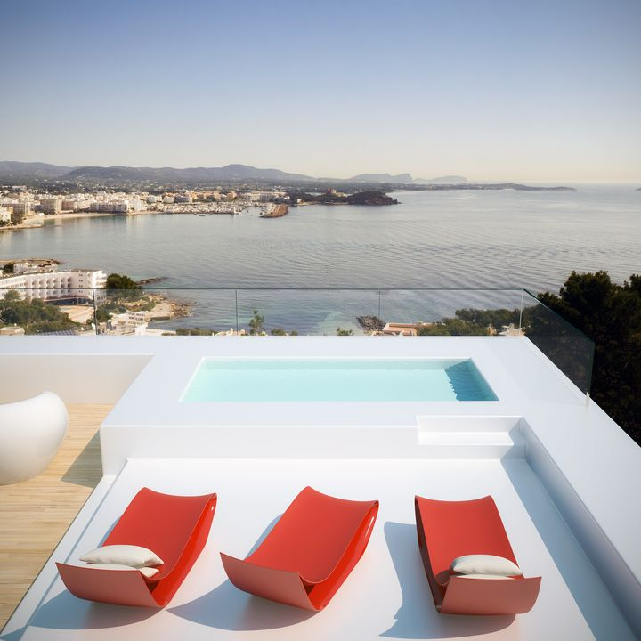 ultra modern house in Ibiza2 - Architecture in Spain: Ultra Modern House in Ibiza