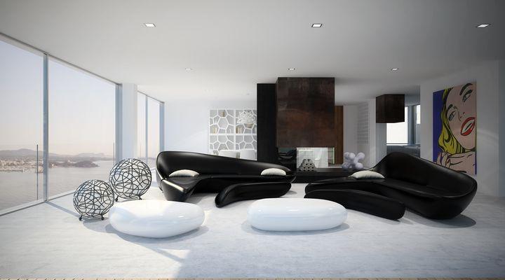 ultra modern house in Ibiza4