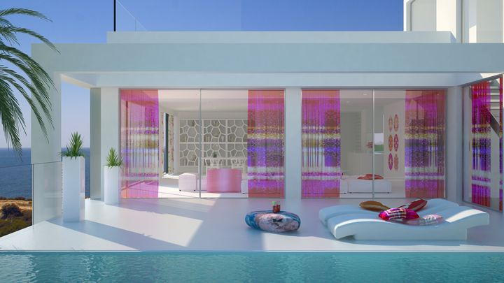 ultra modern house in Ibiza6 - Architecture in Spain: Ultra Modern House in Ibiza