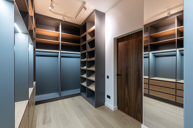 vestidor vacio - How to make a dressing room in any spot of your home