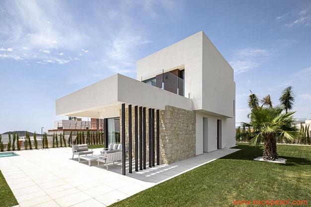 villa de lado casa con piscina Alicante - Discover this spectacular house with a pool in Alicante