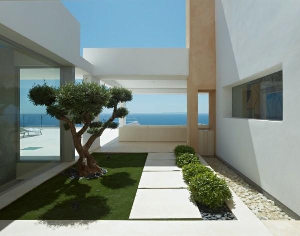 villa en Ibiza 5 - Modern Architecture in Spain: Villa in Ibiza by Minimum Arquitectura