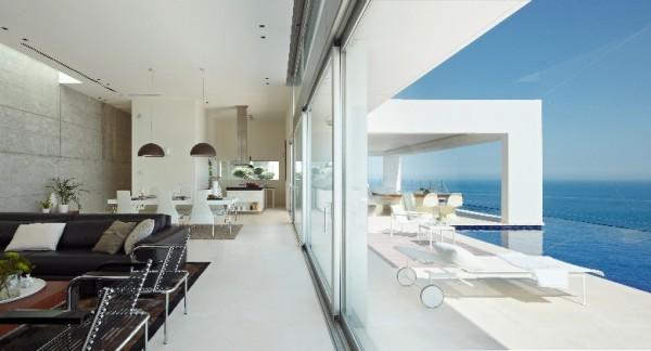 villa en Ibiza2 - Modern Architecture in Spain: Villa in Ibiza by Minimum Arquitectura