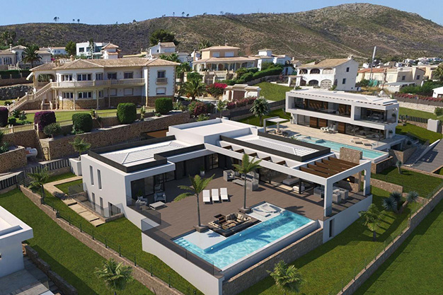 villa - For Sale One of the Most Spectacular Villas in Alicante with Incredible Sea Views