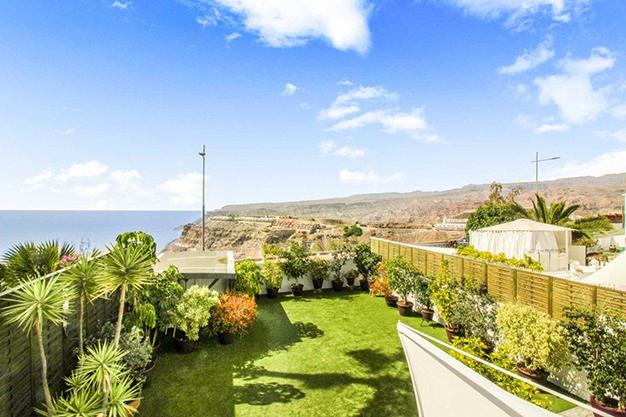 vistas las palmas - Exceptional villa with terraces in Las Palmas: incredible views of the sea and Mount Teide